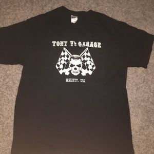 Other - Tony's garage black graphic tee